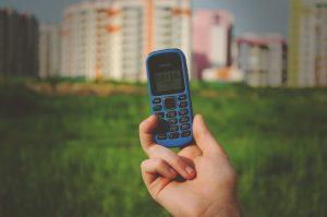 teléfono movil para el camino