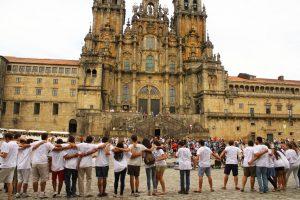 peregrinos en santiago